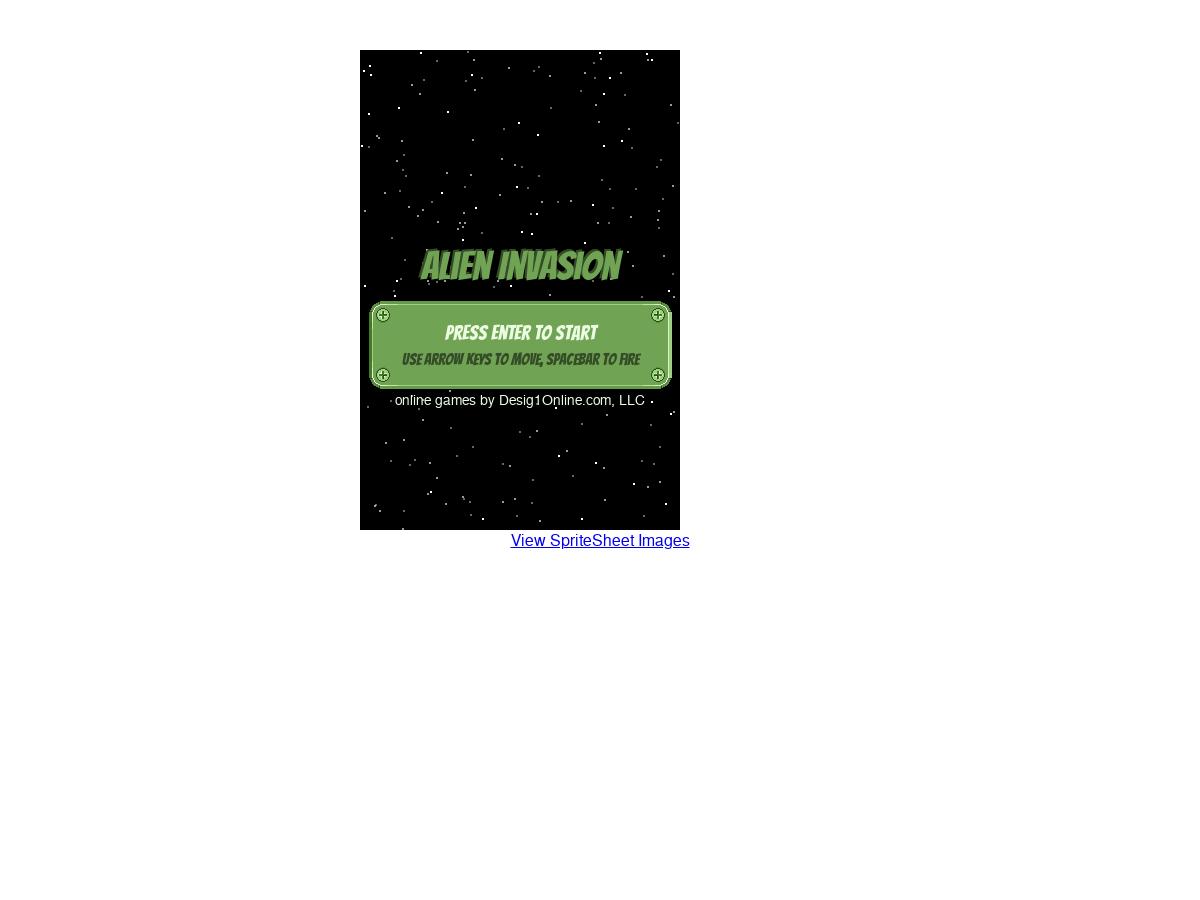 Alien Invasion HTML5 JS Canvas Game - Plunker