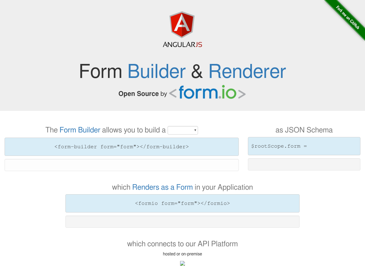 Form io Form Building and Rendering - Plunker