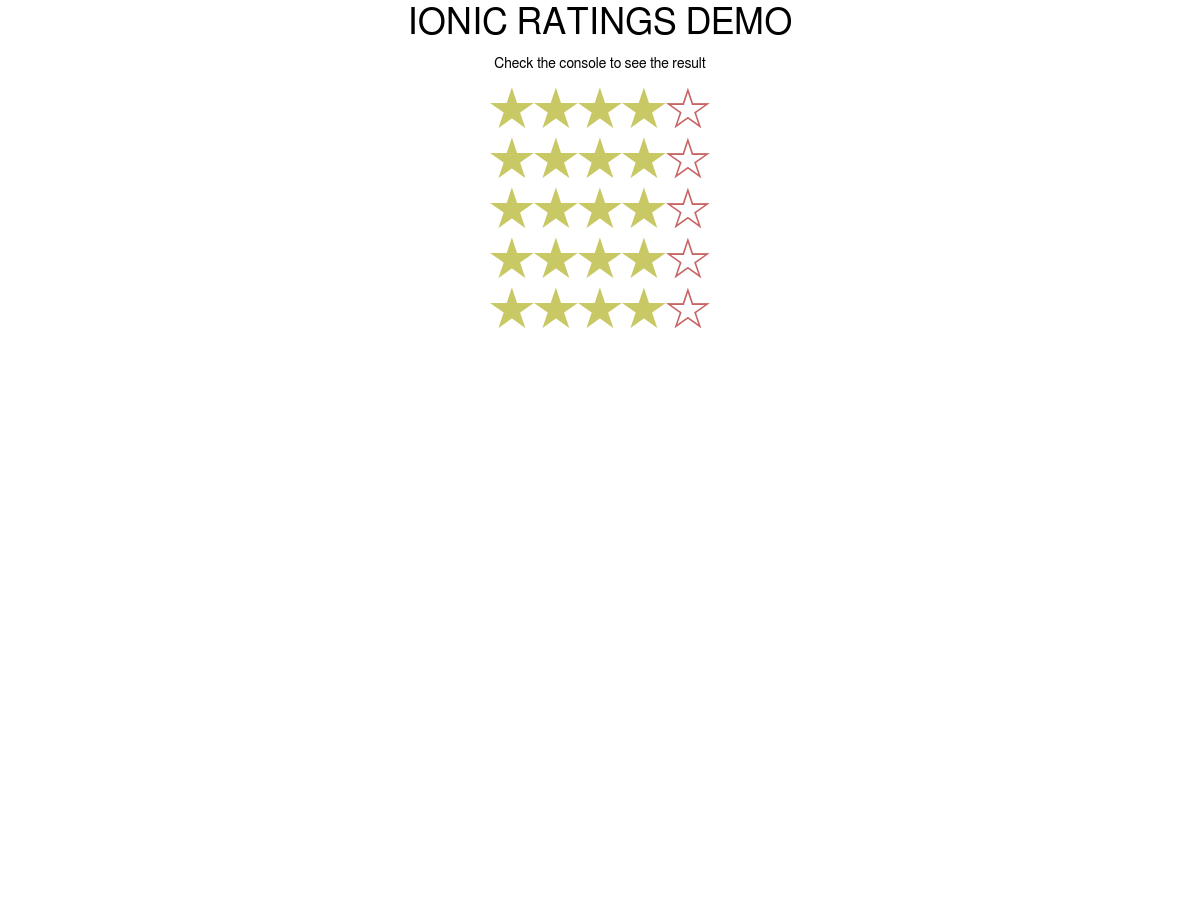 ionic-ratings - Plunker