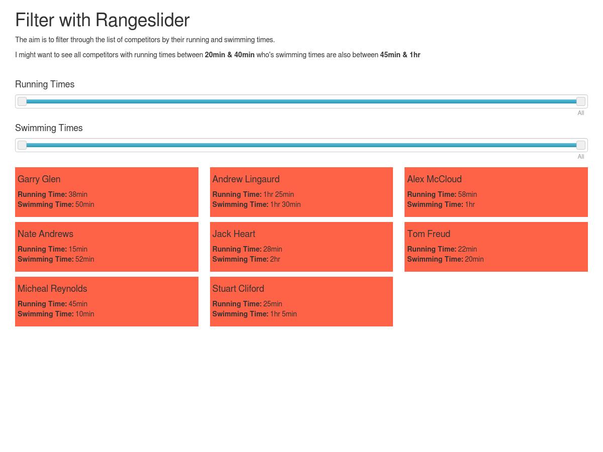 Angular RangeSlider Multi Filter - Plunker